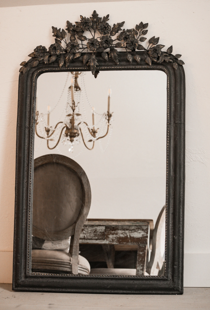 large antique style mirror HallstromOrnate Mirrors Bring So Much Excitement to Home Decor