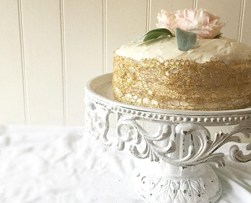 Yummy Gluten Free Coconut Layer Cake ~ Hallstrom Home