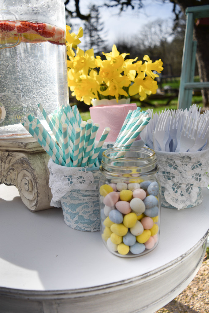 Spring Easter decor