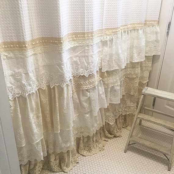 Super My Bohemian Bathroom with Vintage Lace ~ Hallstrom Home KX72