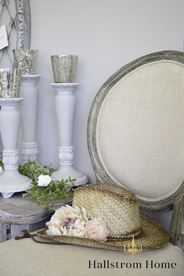 Shabby Chic Wedding Table Centerpieces