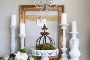 Hallstrom Home DIY Wedding Memory Board Frames