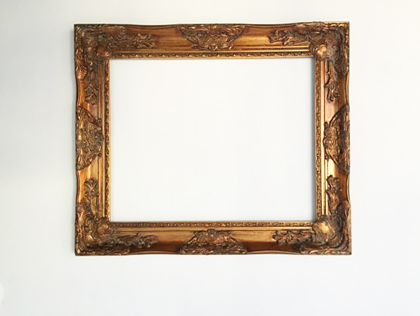 gold frame by Hallstrom Home