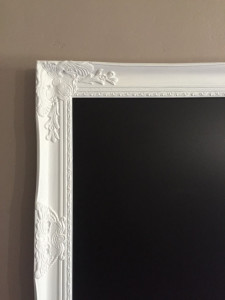 DIY Wedding Memory Board Frames