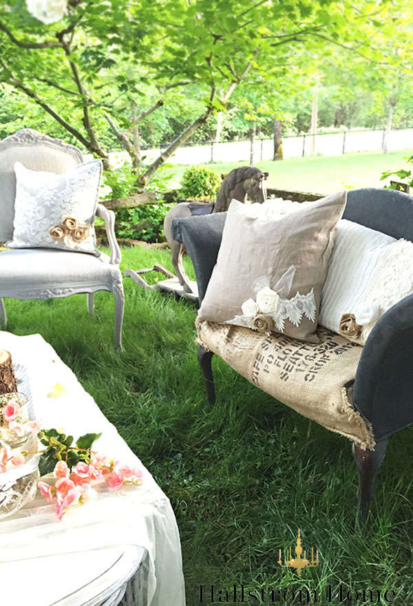 Bohemian Garden Party Decor by Hallstrom Home