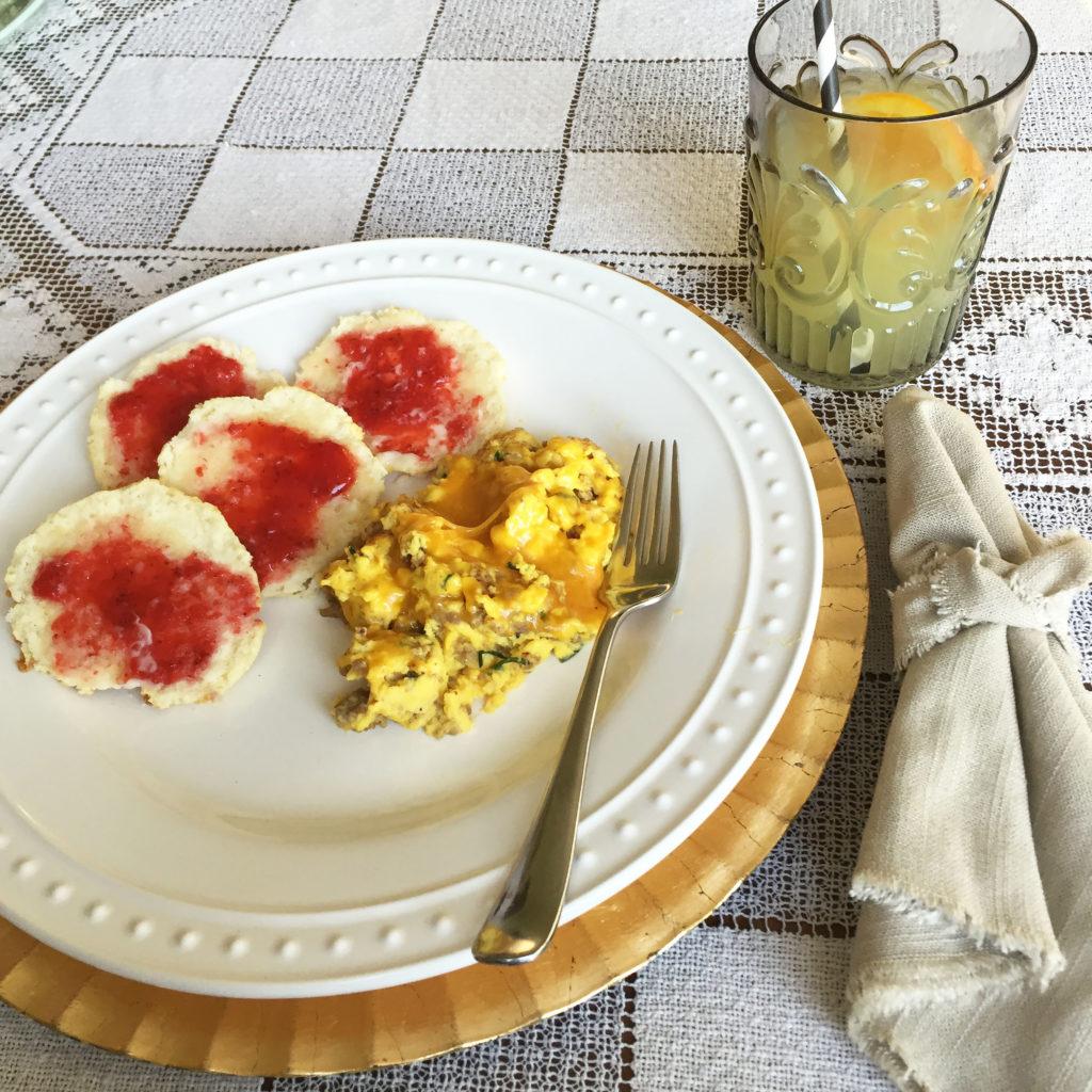 Busy Mom's Farm Fresh Egg Breakfast Recipe
