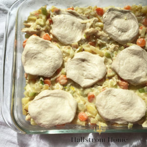 Easy Chicken Pot Pie for Busy Moms