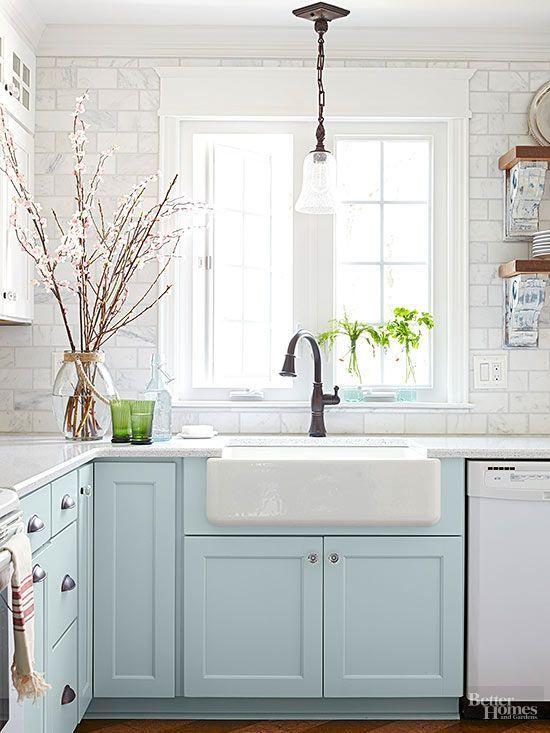 5 Farmhouse Kitchen Sinks We Love ~ Hallstrom Home