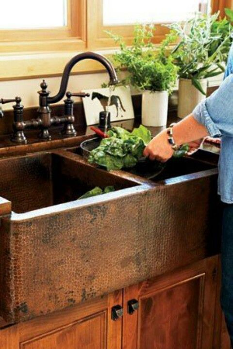 Hallstrom Home - 5 Farmhouse Kitchen Sinks We Love