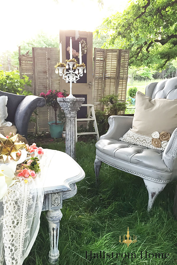 Hallstrom Home Bohemian Garden Party Decor Furniture