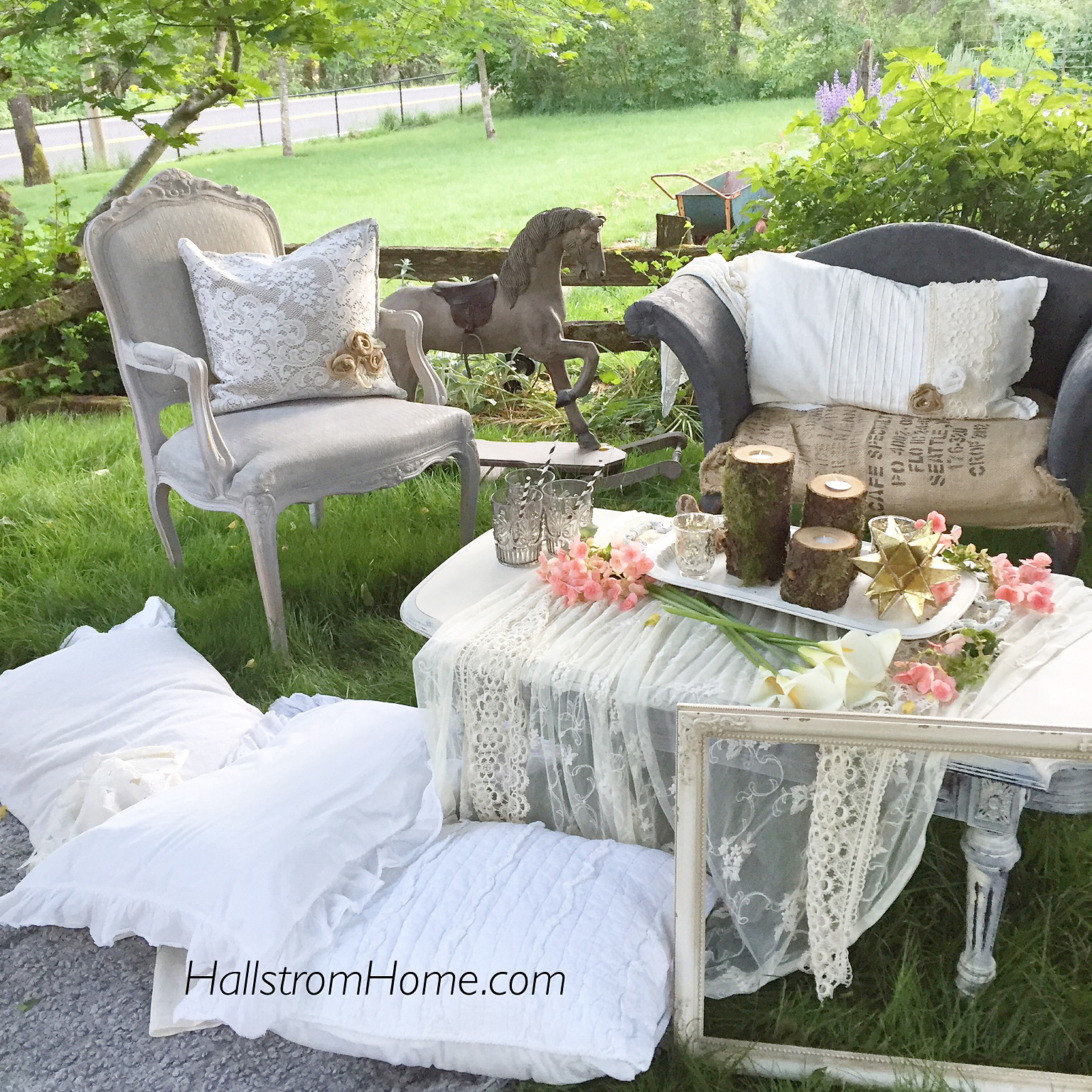 Hallstrom Home Bohemian Garden Party Decor
