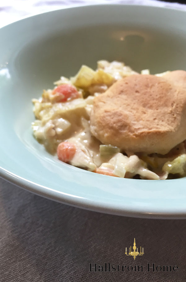 Hallstrom Home - Easy Chicken Pot Pie for Busy Moms