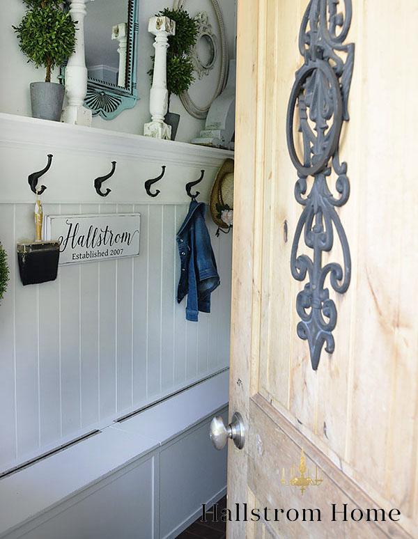 Easy DIY Shiplap Wall Tutorial ~ Hallstrom Home
