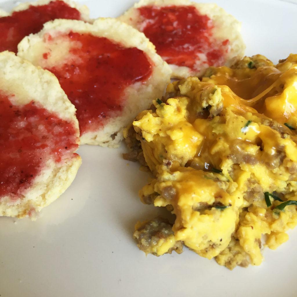 Hallstrom Home's Busy Mom's Farm Fresh Egg Breakfast Recipe