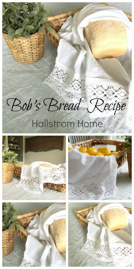 Bob's Bread Recipe by Hallstrom Home