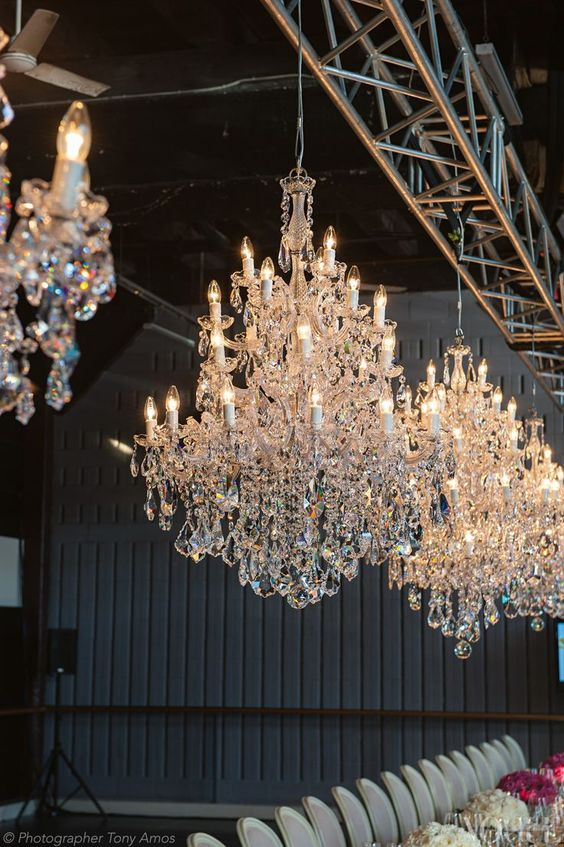 Hallstrom Home - Wedding Chandelier Shooting and Style Tips