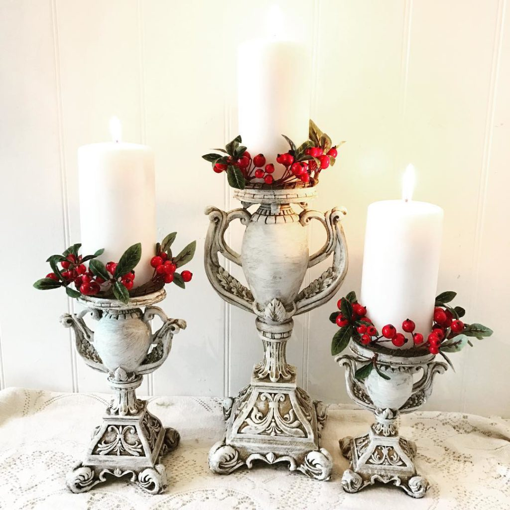 Next week it's going to look like Christmas on my website. Hope you'll find something truly special for holiday gift giving like this beautiful set of handle holders. #giftideas #candle #myfavpicfriday wanna share? @beesnburlap @maisondecinq
