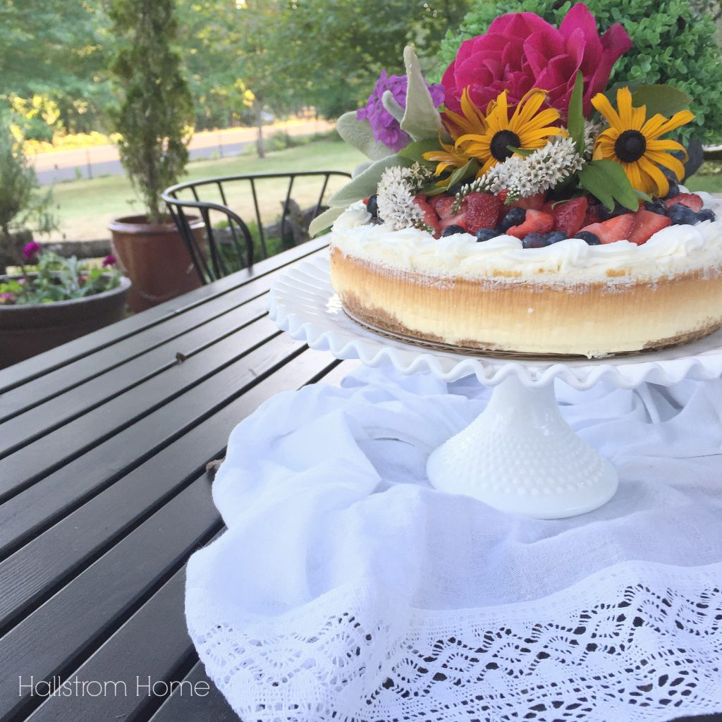 DIY Store Bought Cake Styling - Hallstrom Home -