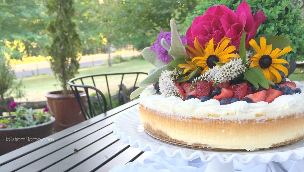DIY Store Bought Cake Styling