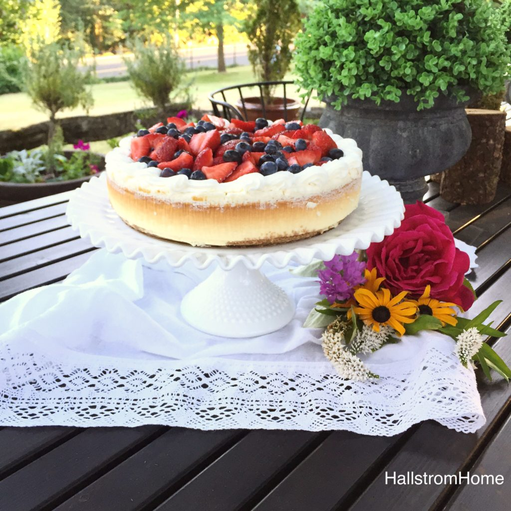 Hallstrom Home DIY Store Bought Cake Styling