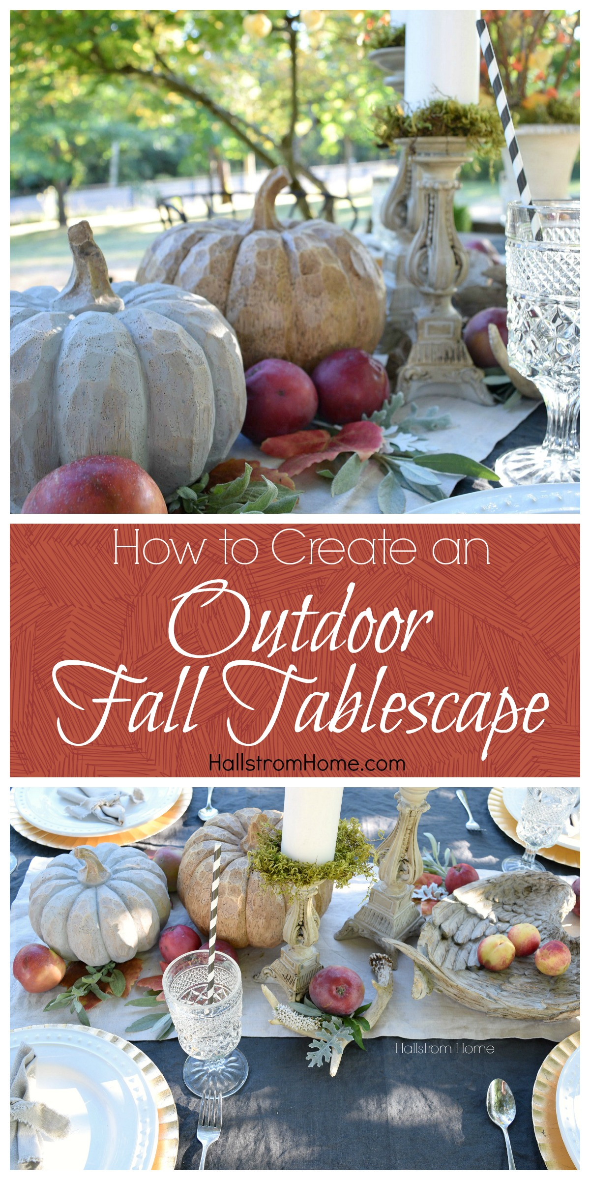 How to create a tablescape YOU can achieve!