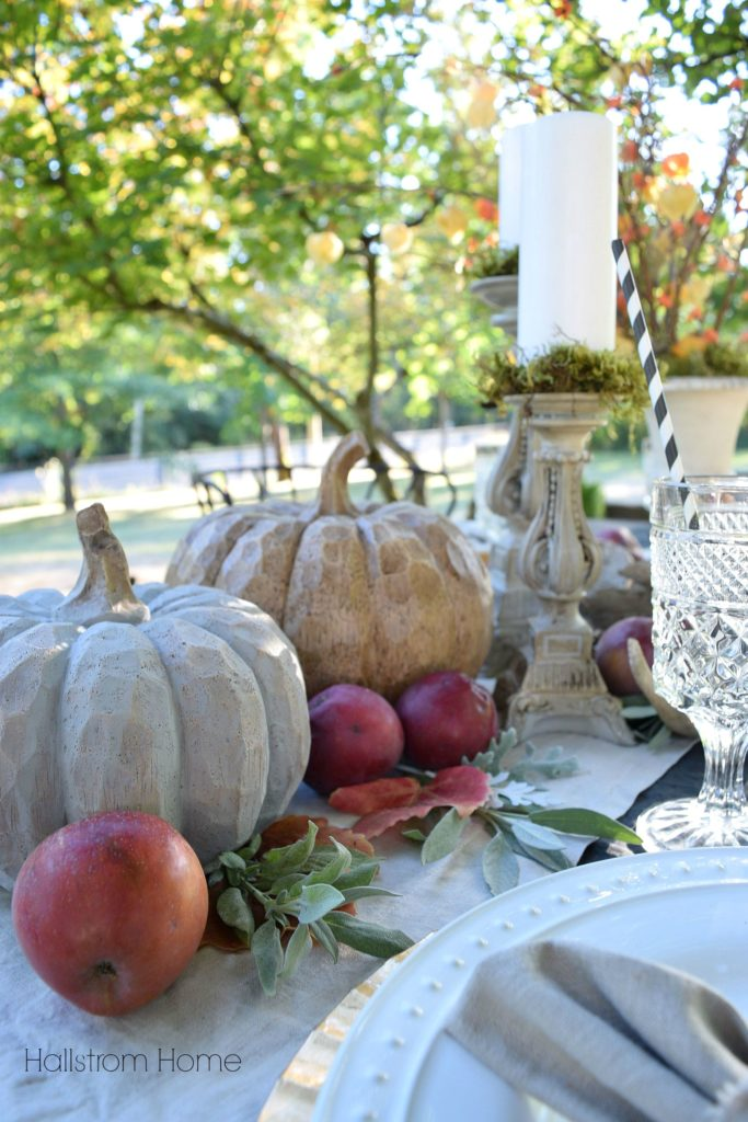 How to Create an Outdoor Fall Tablescape Hallstrom Home