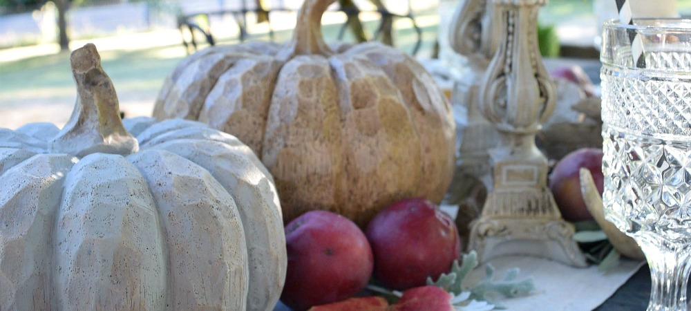 How to Create an Outdoor Fall Tablescape Hallstrom Home blog