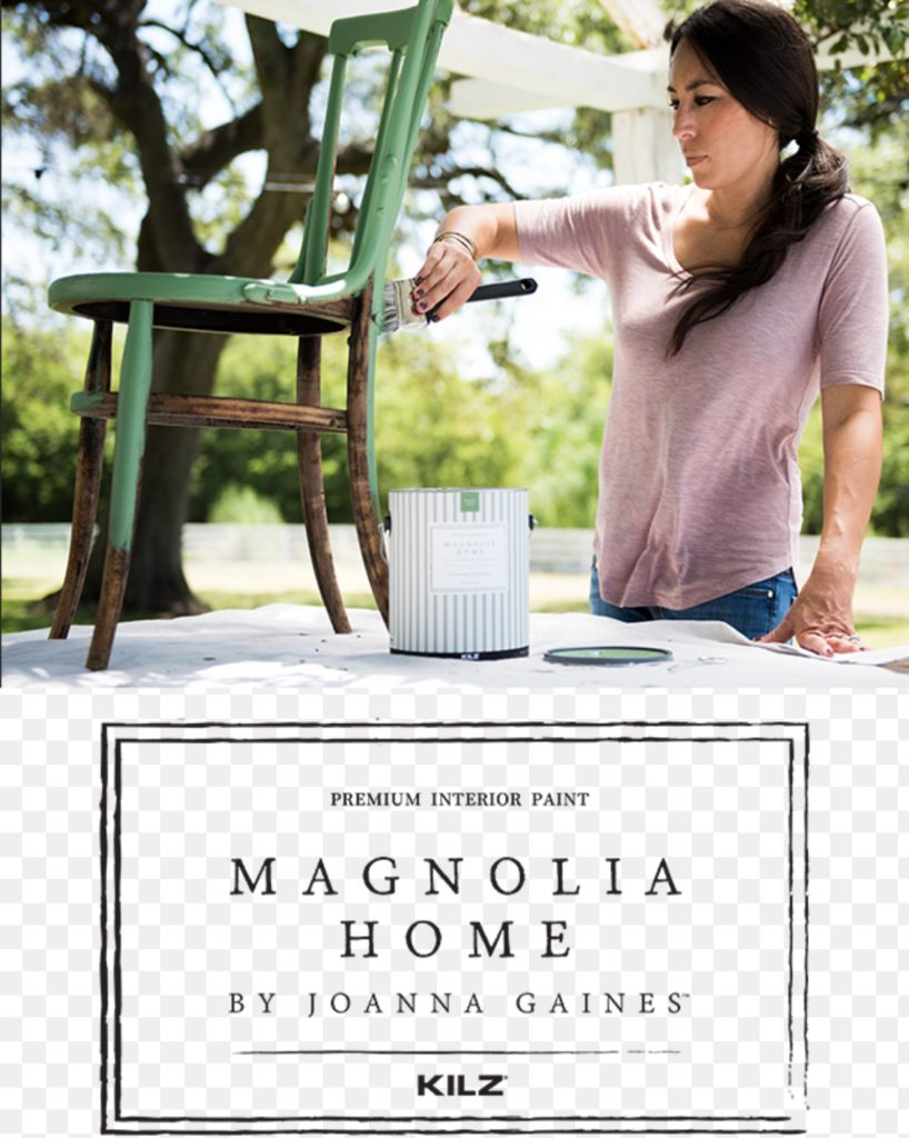 Magnolia home kilz paint with joanna gaines hallstrom home Magnolia home furniture online