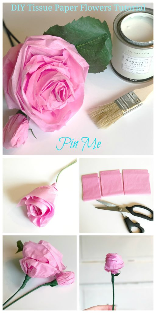 DIY Tissue Paper Flowers Tutorial|craft|diy|tissue paper flowers |tissue paper flowers for kids |giant tissue paper flowers|small tissue paper flowers| how to make tissue paper flowers|Hallstromhome.com|
