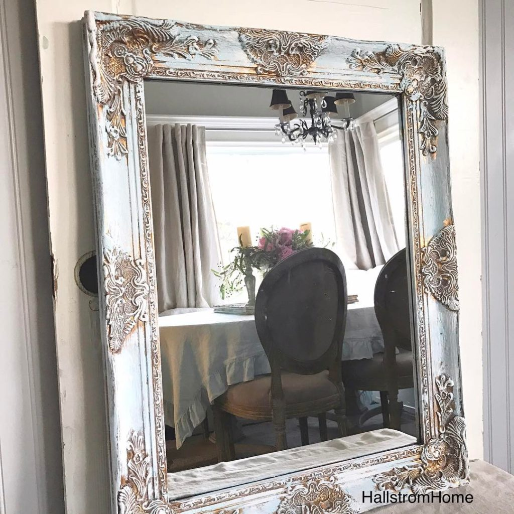 12 Techniques To Painting Antique Mirrors Hallstrom Home