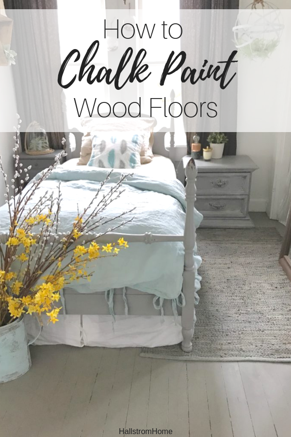 How I Chalk Painted Wood Floors Hallstrom Home