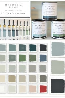 Joanna Gaines Magnolia Chalk Style Paint