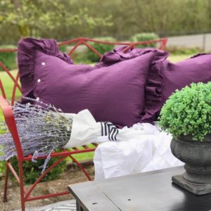 Can you believe I weather proofed my linen pillows? clickhellip