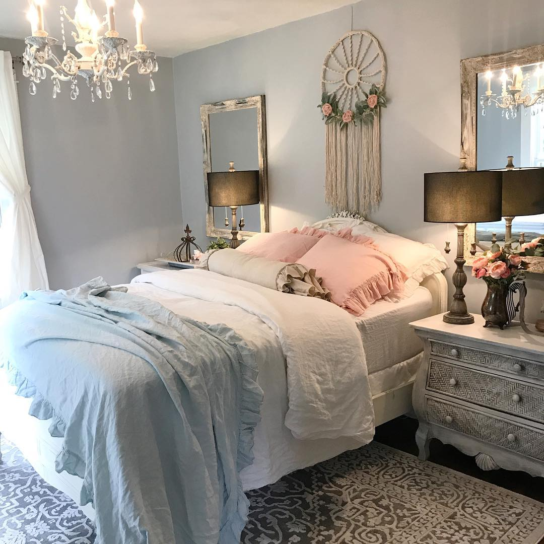 Shabby Chic Bedrooms: My Daughters Shabby Chic Bedroom