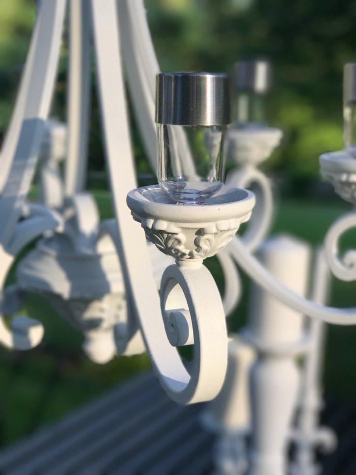 Diy Solar Light Hanging Chandelier Hallstrom Home