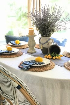 Summer Tables for Farmhouse Style Made Easy