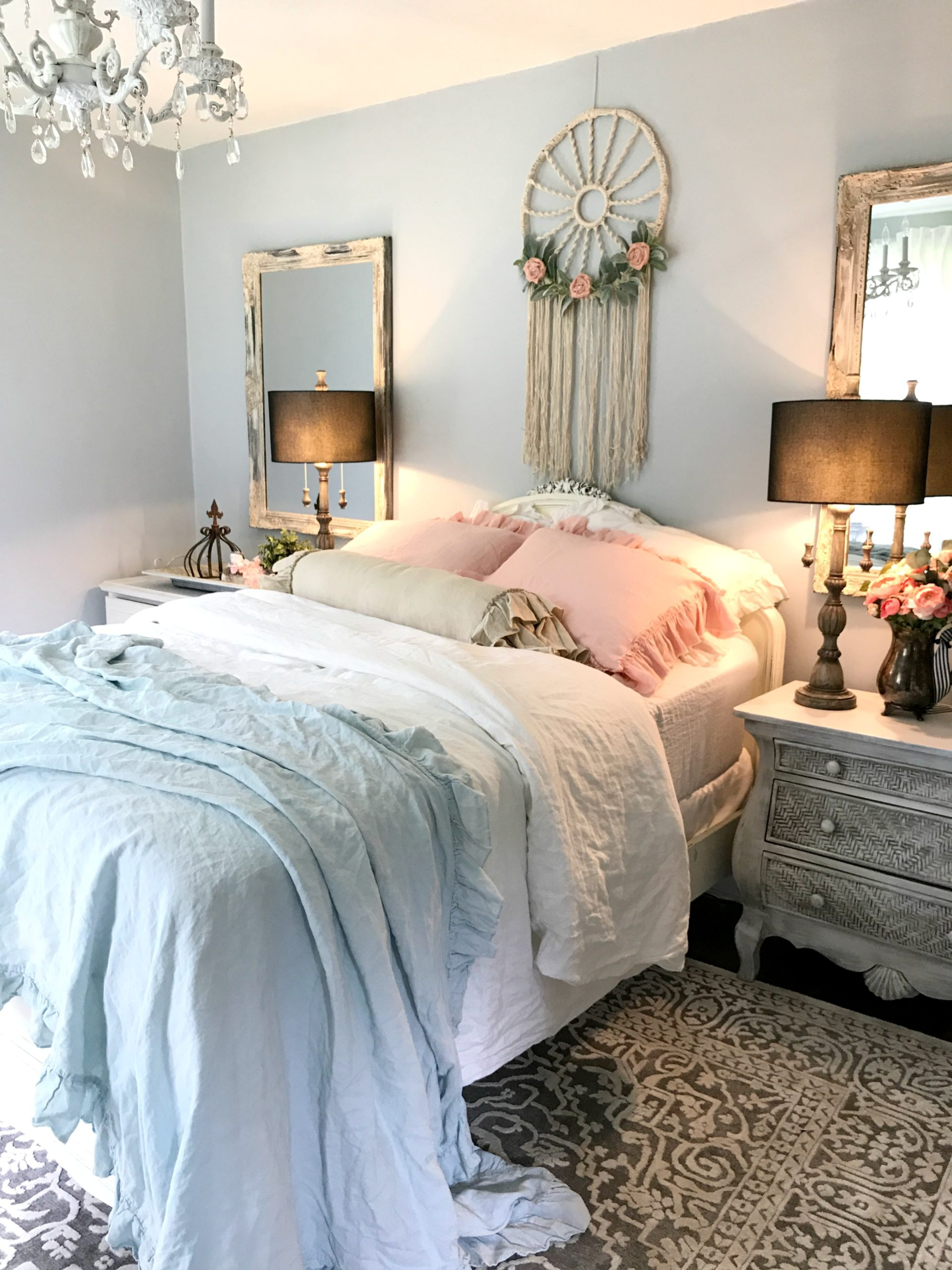 My Daughters Shabby Chic Bedroom
