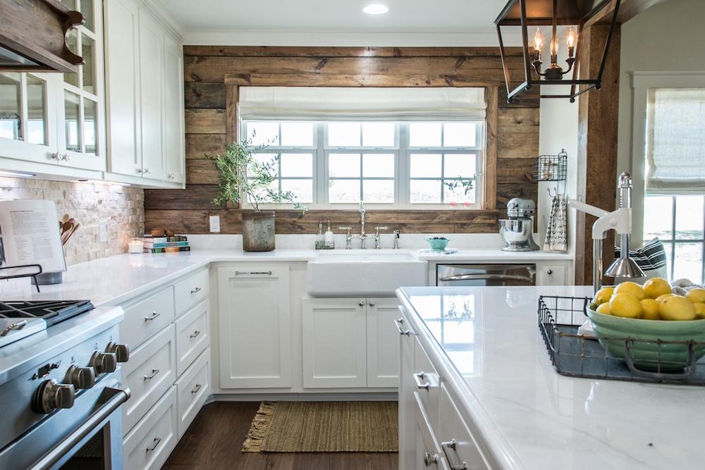 Fixer Upper White Kitchens