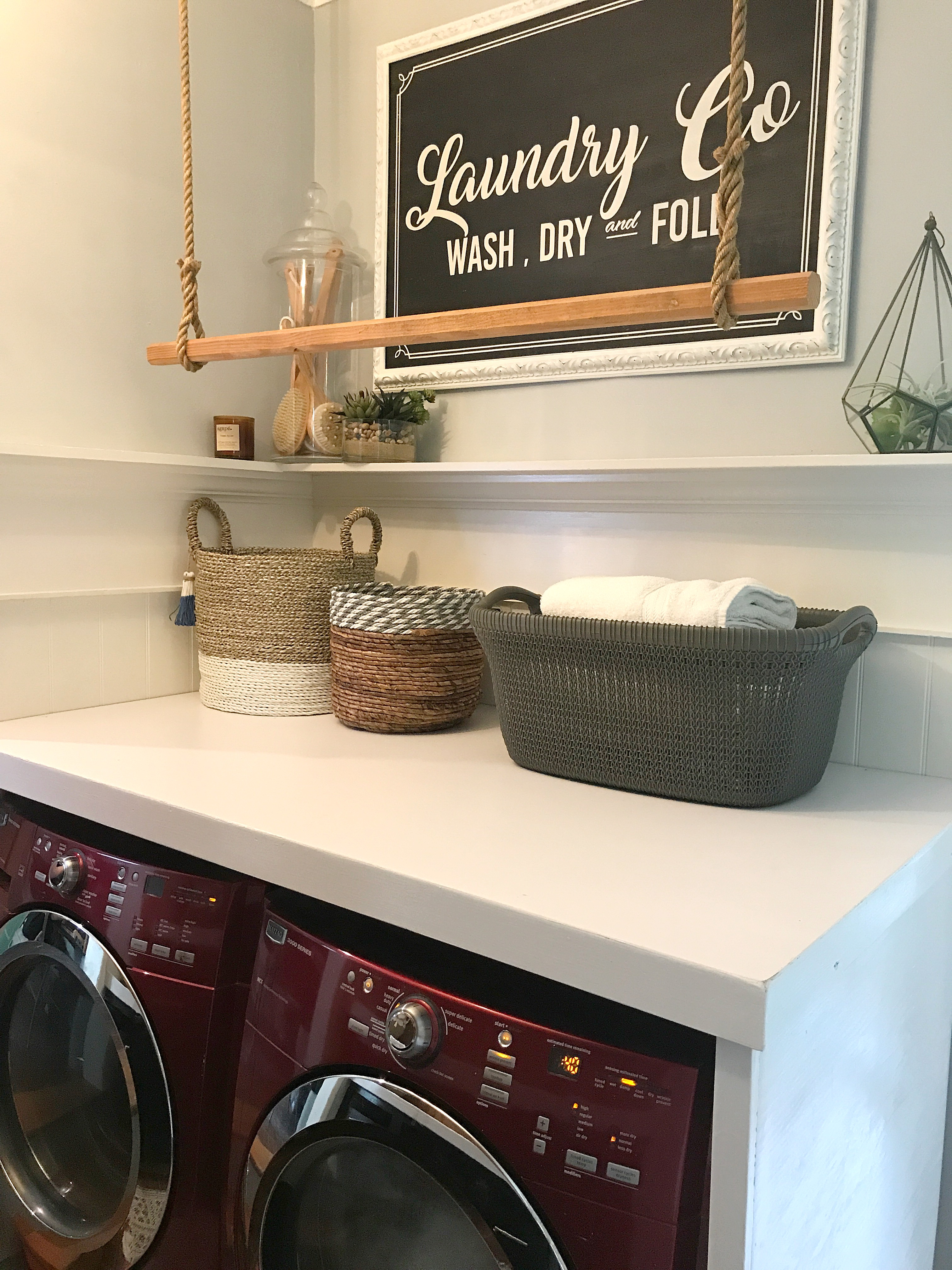 Our Farmhouse Laundry Room