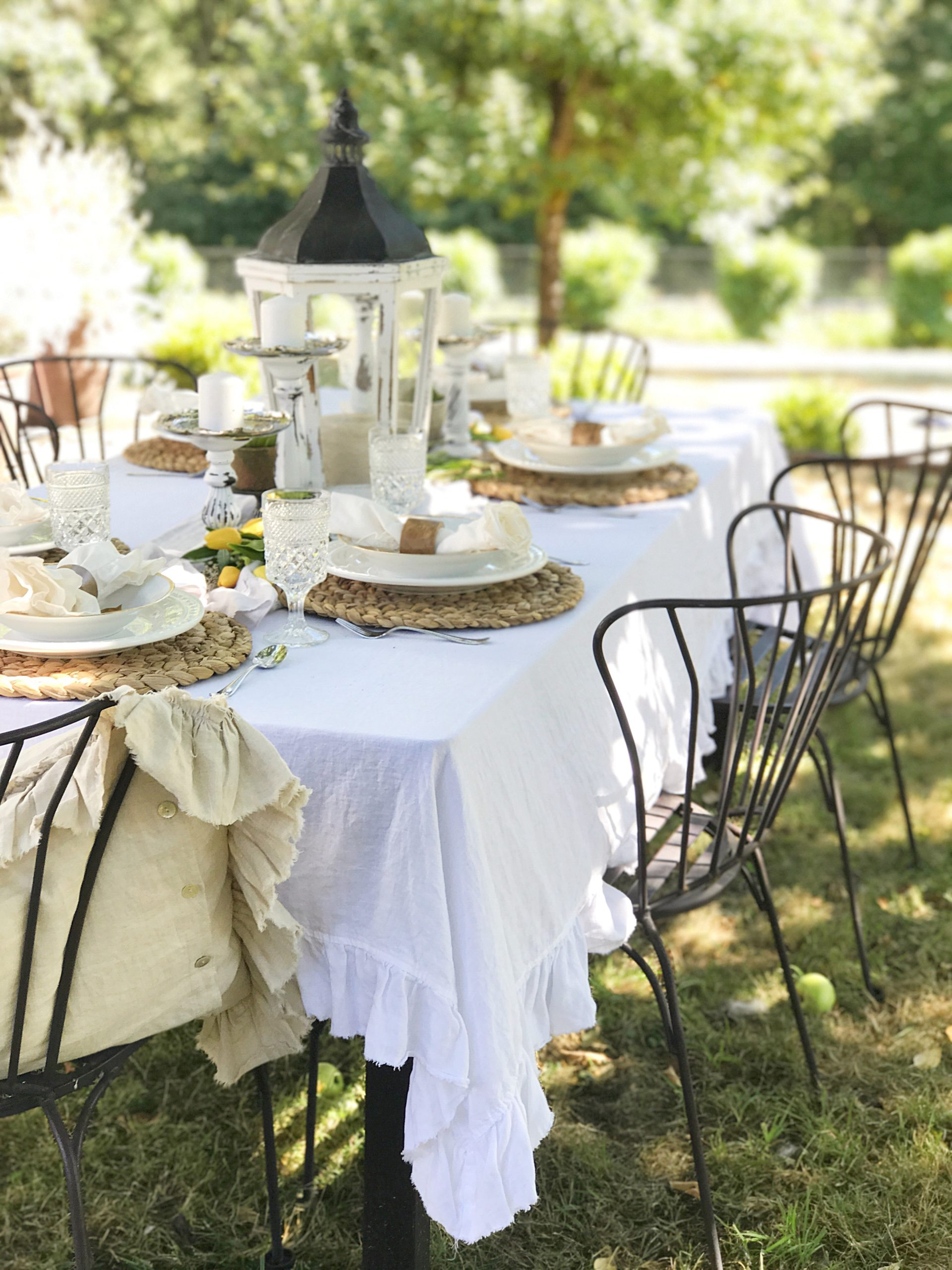 Styles and Tips for Al Fresco Summer Dining
