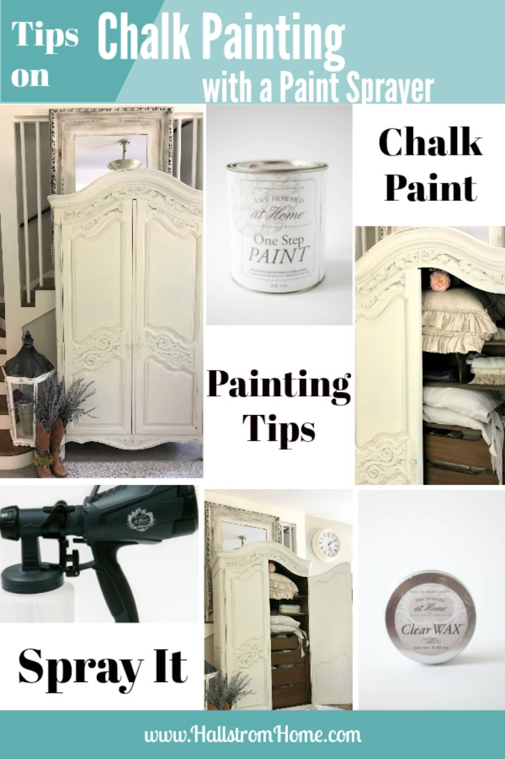 Tips on Chalk Painting Furniture with a Paint Sprayer