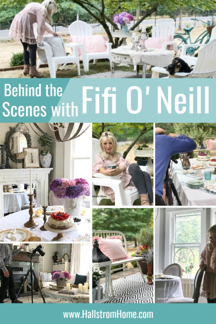 Behind the Scenes with Fifi O'Neill