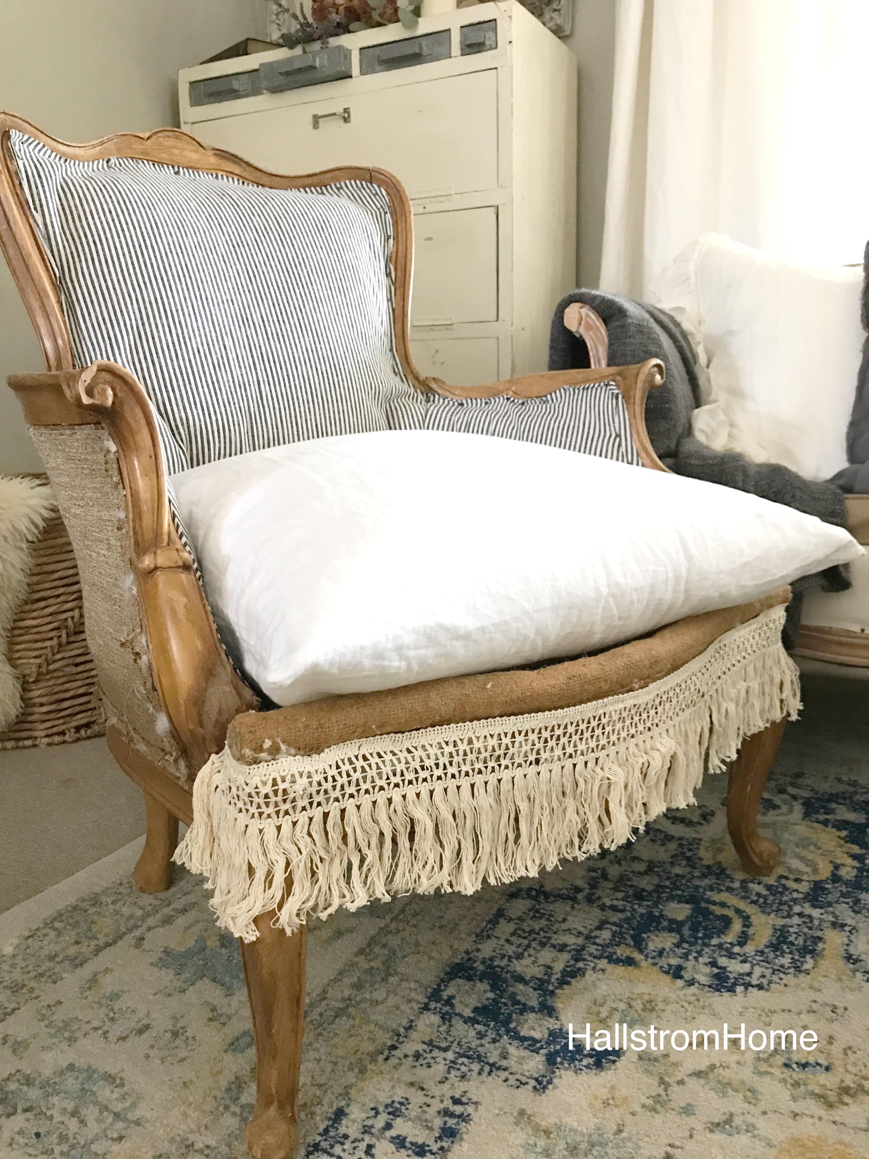 Bohemian Farmhouse Chair