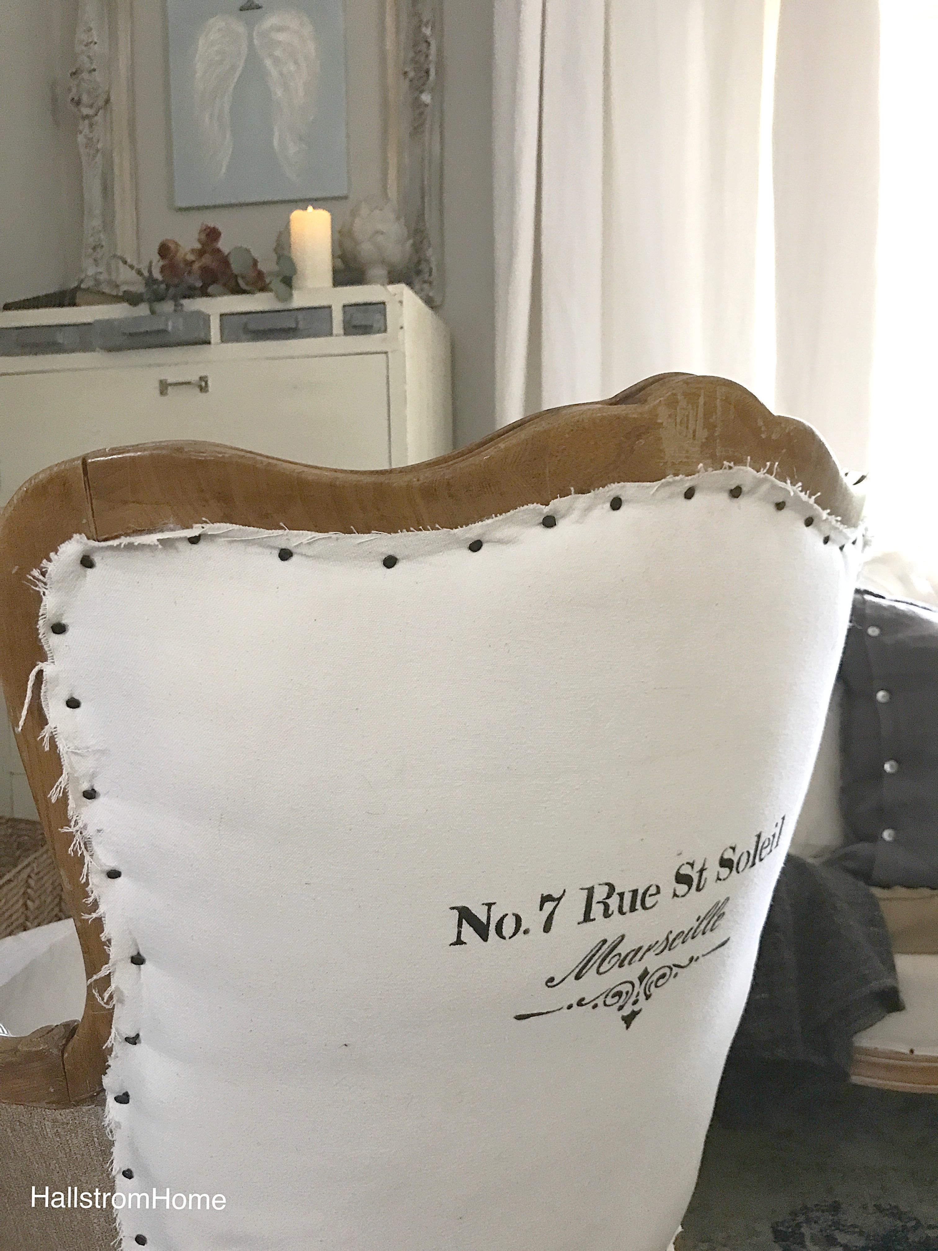 Rustic French Farmhouse Chair