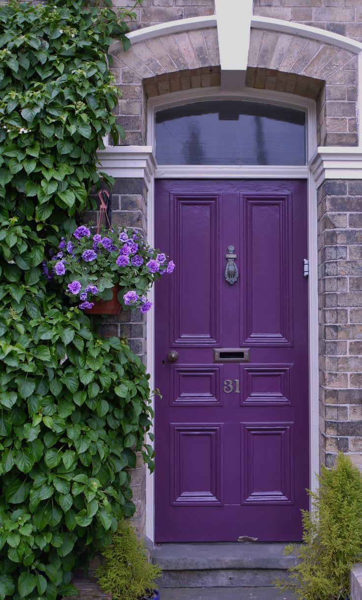 Purple Front Door by Pantone