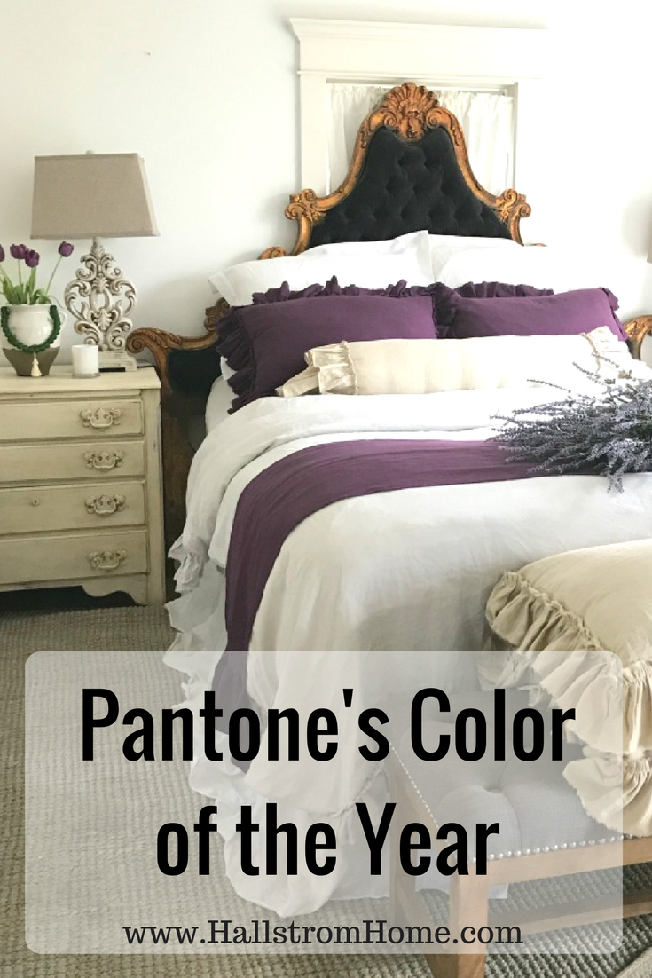 Updating your Bedroom with Pantone's Color of the Year