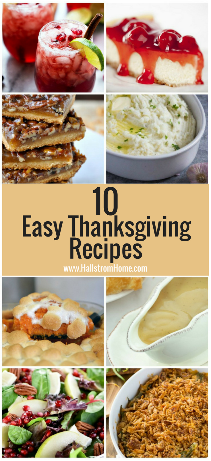 10 Quick and Easy Thanksgiving Recipes