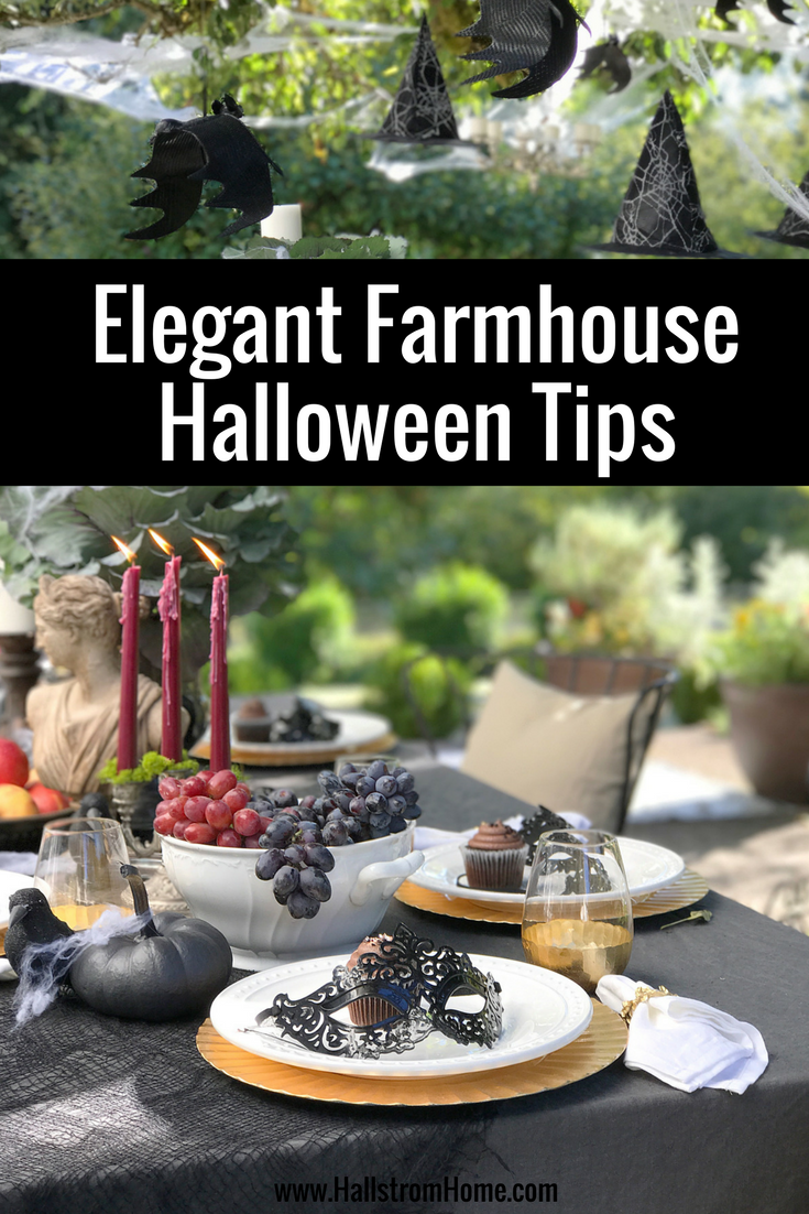 Our Elegant Farmhouse Halloween Tips