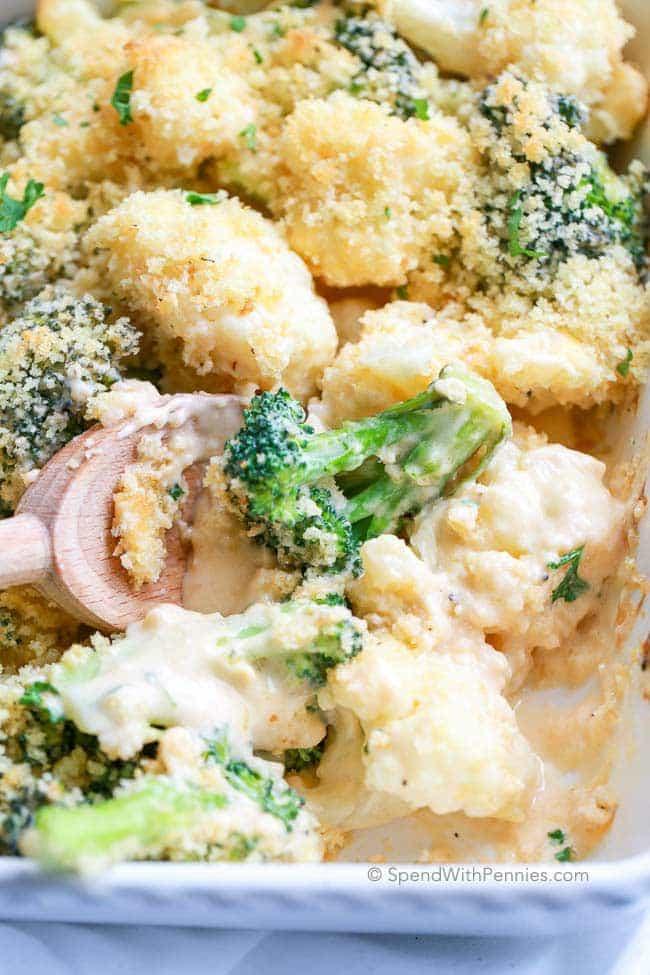 Recipe For Broccoli And Cauliflower Casserole