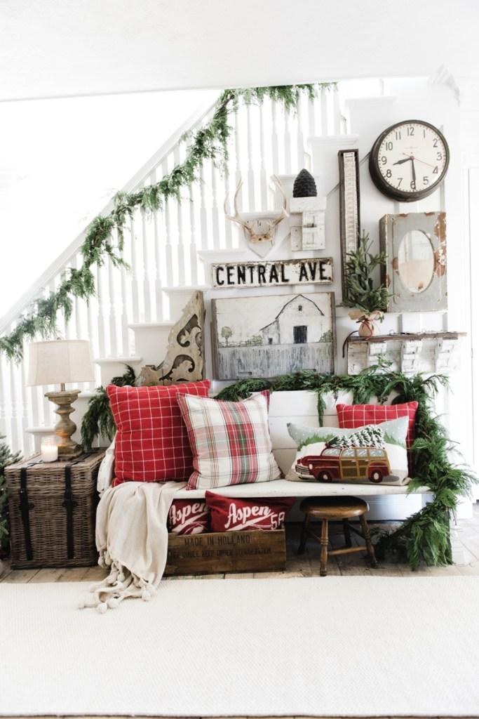 The Best Christmas Farmhouse Decor On Amazon Hallstrom Home
